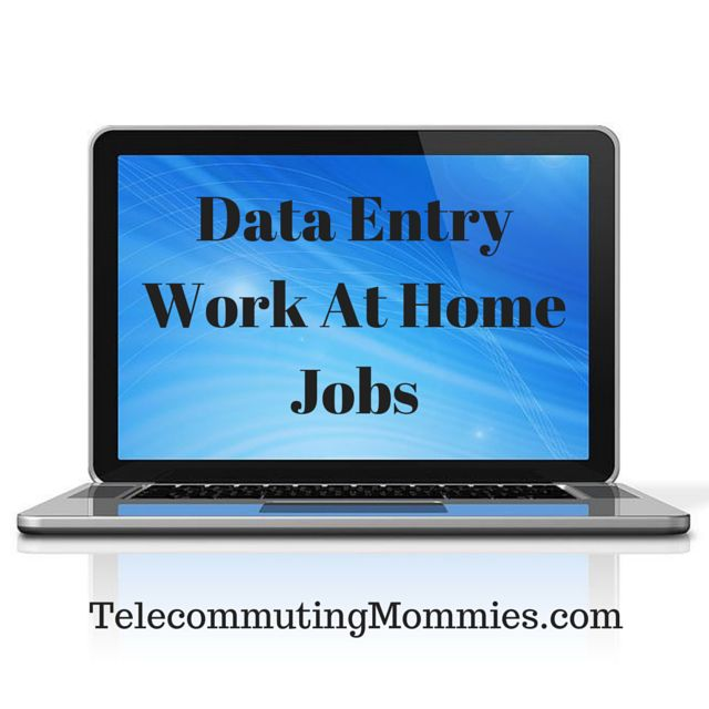 Find out how to get data entry work from home jobs, what these jobs entail, and what companies are legitimate