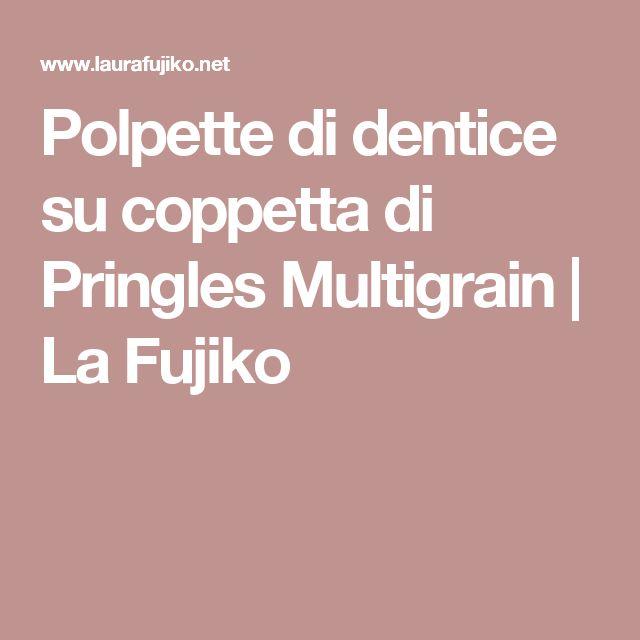 Polpette di dentice su coppetta di Pringles Multigrain   La Fujiko