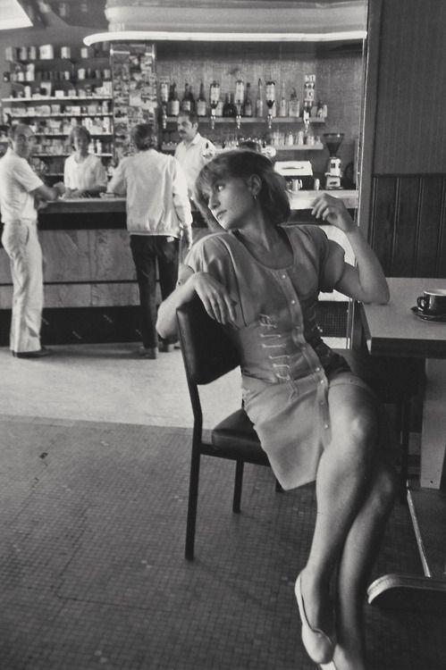 greeneyes55:  Isabelle Huppert  Photo: Robert Doisneau
