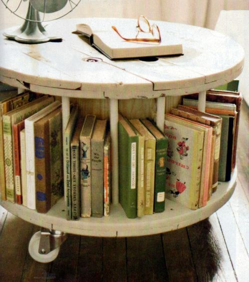 Center table and books