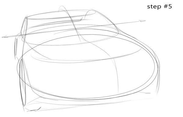 3 ellipses tutorial by Pedro Guarinon, via Behance