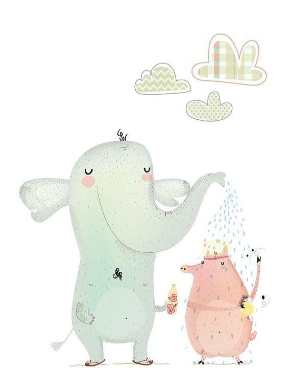 Esta ilustración ya forma parte de la habitación de mi casa :) gracias a www.saludosalpollo.com