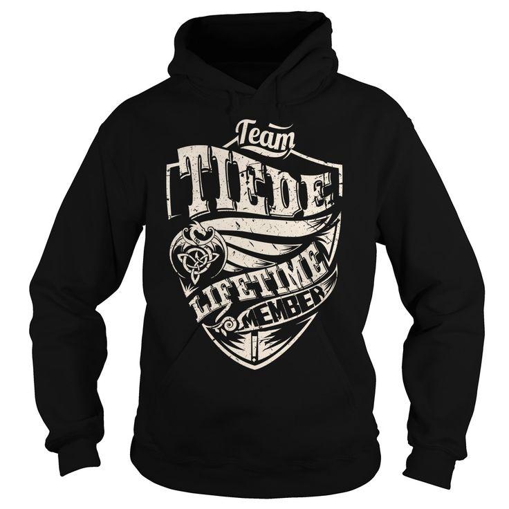 Team TIEDE Lifetime Member (Dragon) - Last Name, Surname T-Shirt
