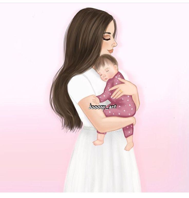 Bebe Sono Baby Mae E Filha Desenho Desenhos De Gravidas Arte