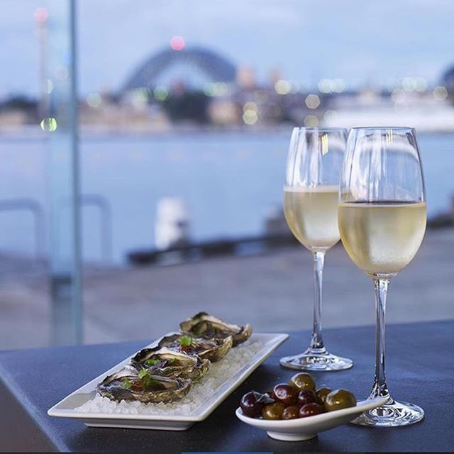 Where has the Sydney sun gone? Don't worry - we have you sorted! Come down and enjoy some amazing oysters and a glass of champagne. Even the weather can't take away from this view!!! #rainraingoaway #oysters #champagne #flyingfish