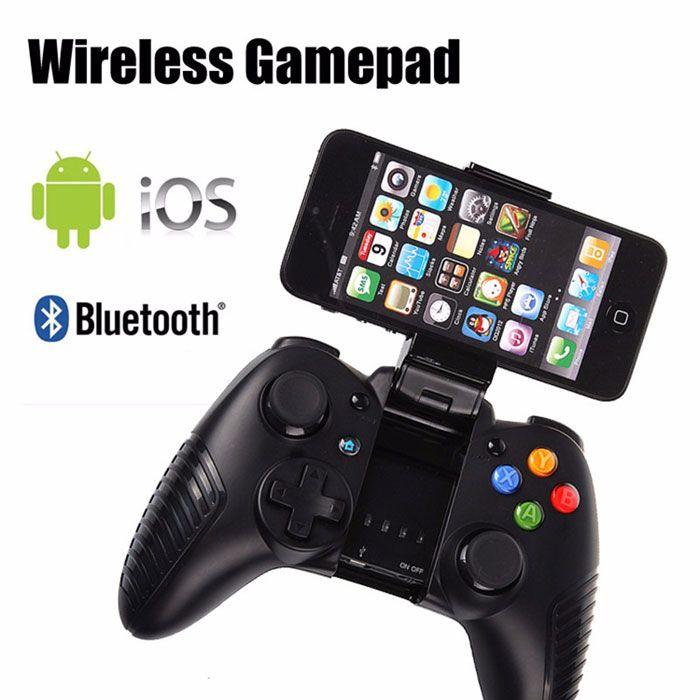Gamepad Bluetooth - G910Warna : HitamGaransi : 1 Bulan TokoGaming Controller Bluetooth / Wireless Gamepad membuat bermain game di iPhone dan smartphone semakin mudah nyaman dan menyenangkan. Dengan design yang dinamis seperti controller console membuat gaming hand grip ini w