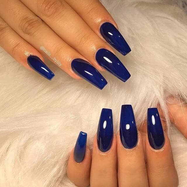 50 Stunning Blue Nail Designs for a Bold and Beautiful Look   – My Girly Stuff
