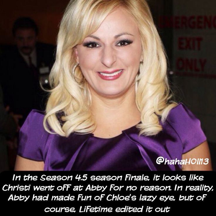 Dance Moms Confessions/Facts by @hahah0ll13