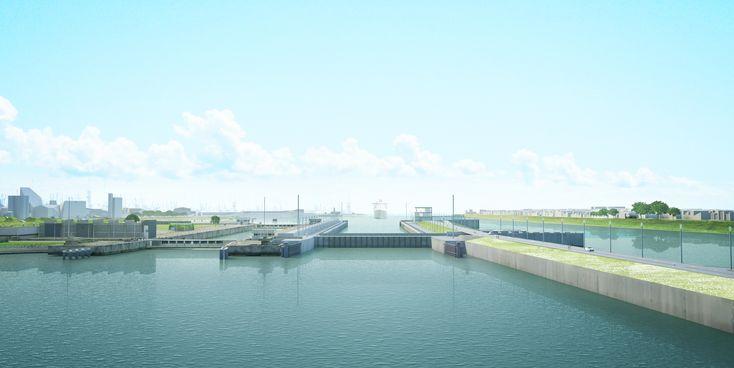 Het #sluizencomplex in #IJmuiden bestaat uit meerdere #sluizen. Met de vooruitgang van de #techniek en de groei van de schepen werd er steeds een nieuwe en grotere sluis noordoost kant aan het complex toegevoegd. De Nieuwe Zeesluis doorbreekt dit ritmeLees verder #wUrck