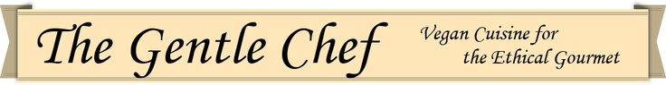 The Gentle Chef website