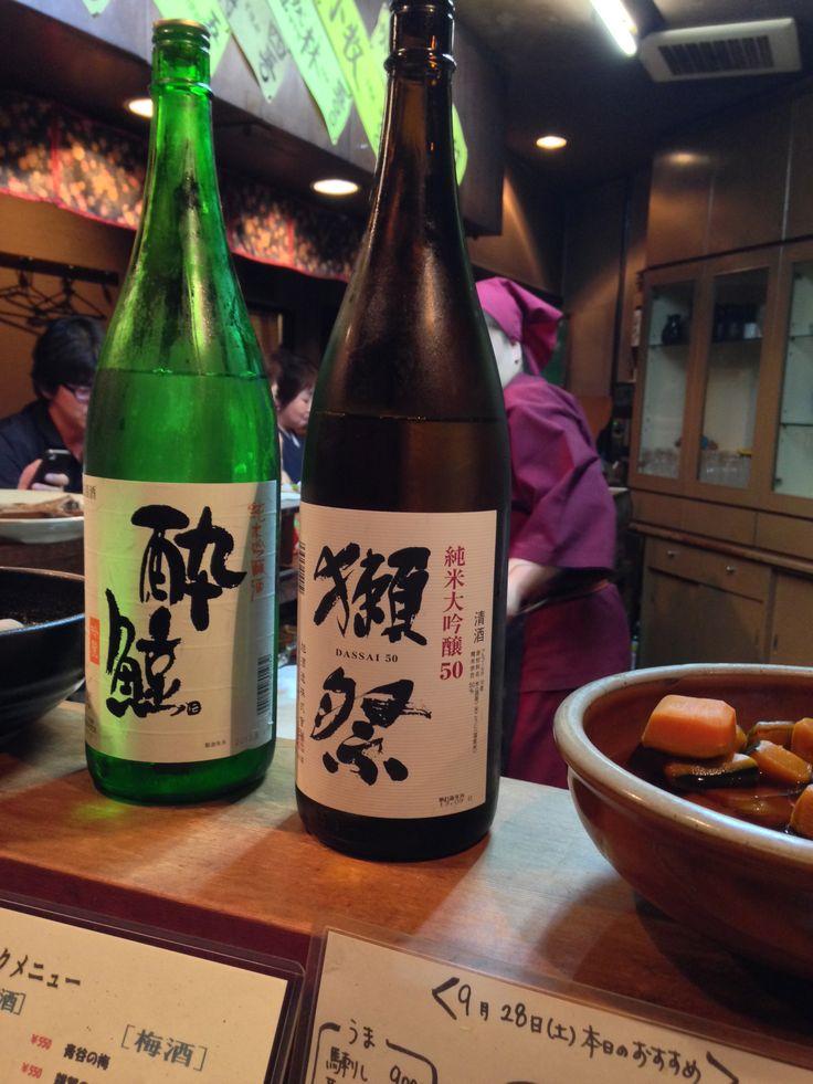好きな日本酒が2種類ともあった!