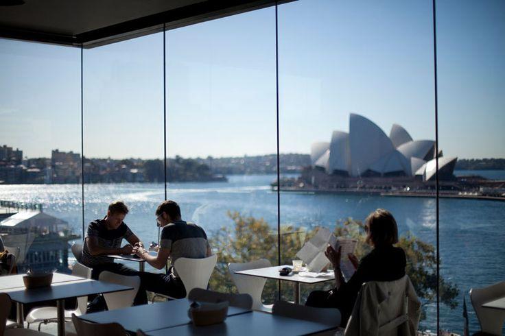MCA Cafe and Sculpture Terrace :: Museum of Contemporary Art Australia