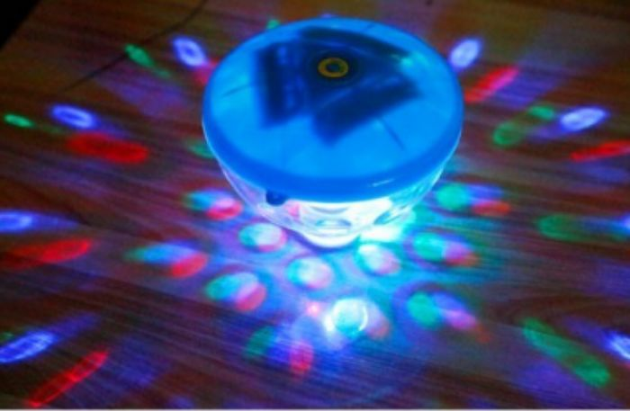 LED Lamp Underwater Fountain Light Show Disco Spa Pond Tub Pool Swimming Waterp - Pool & Spa Lights