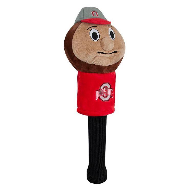 Team Effort Ohio State Buckeyes Mascot Sock Driver Headcover, Multicolor