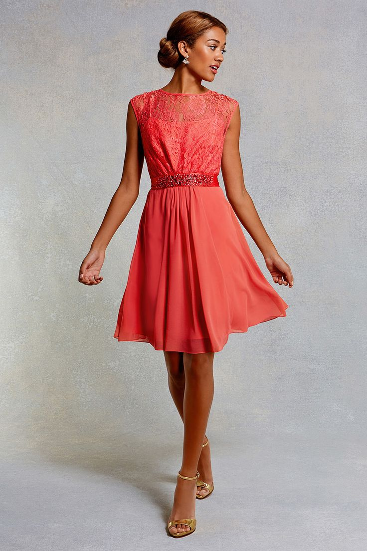 27 best Coral Red Fashion images on Pinterest | Red fashion, Coral ...