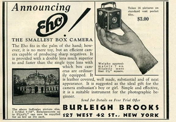 Vintage Camera Ads IV: Tiny Cameras in the Palm of Your Hand - Lomography