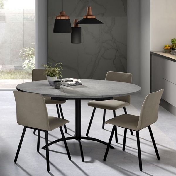 78 ideas about table ronde extensible on pinterest. Black Bedroom Furniture Sets. Home Design Ideas