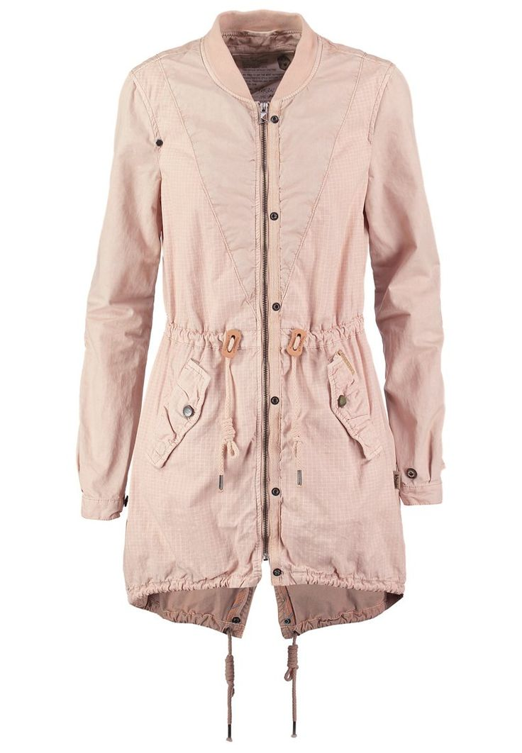 khujo RAKIT Parka dusty rose