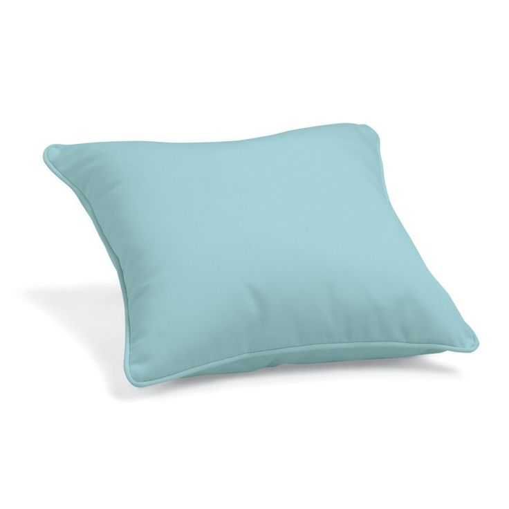 Oxford Garden 15 x 15 Sunbrella® Toss Pillow Mineral Blue - 1TP15MI