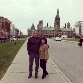 A day with Andre Schad in Ottawa