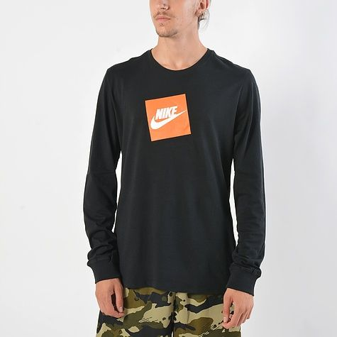 7fc78eb46bb Nike Sportswear Futura Box Men's Tee (AJ3873-010) | Fashion | Mens ...