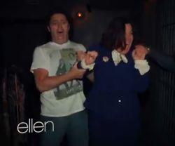 Ellen DeGeneres Makes Her Producer Go Through Haunted House, He FLIPS (VIDEO)
