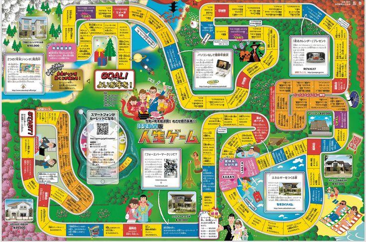 人生ゲーム企画|新聞広告データアーカイブ