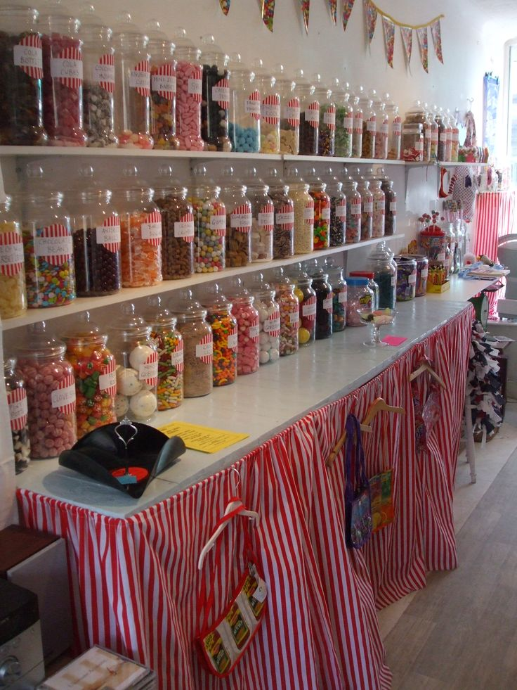 The Candy Man Sweet Shop Ventnor Isle Of Wight Candy