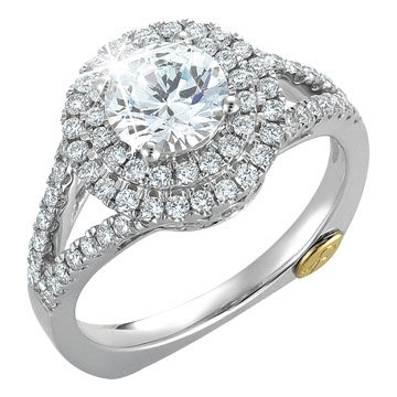 new chad allison diamond engagement ring available at houston jewelry - Wedding Rings Houston