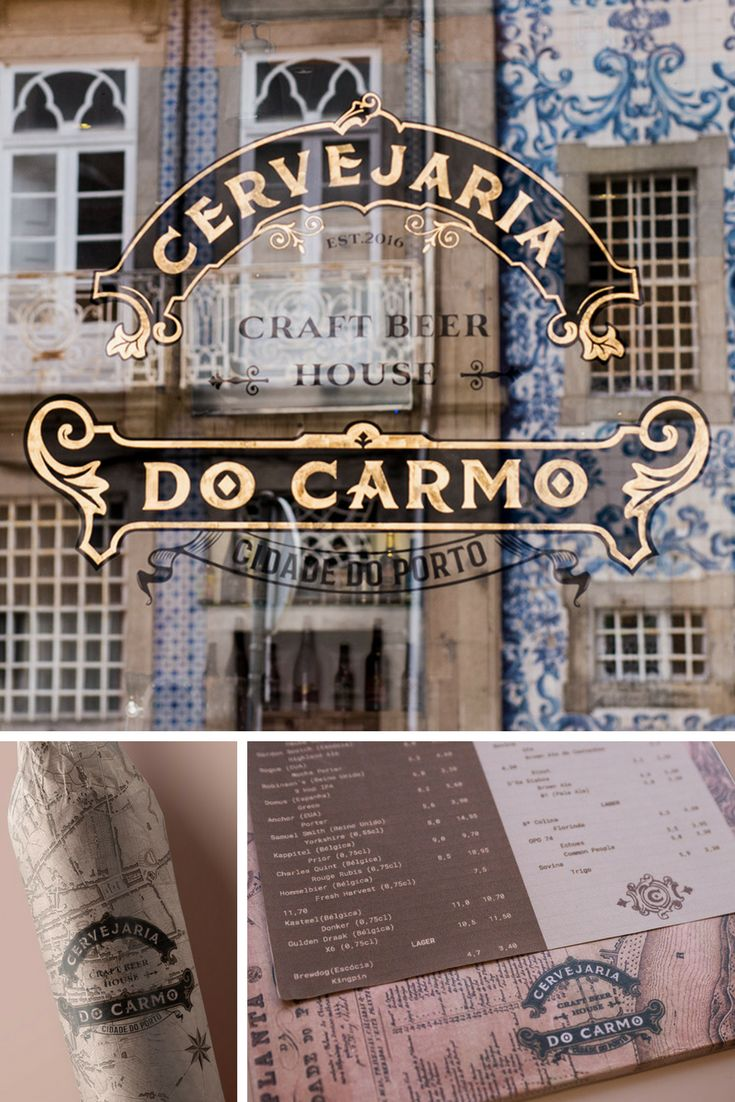 Branding made for a beer house in Porto, Portugal.