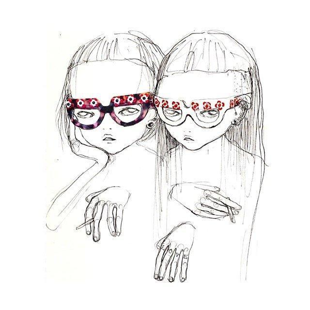 How illustrator Eri Wakiyama came to create Miu Mius spring 2016 prints