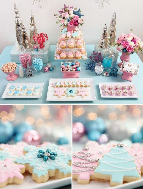 Beautiful Baby Shower Candy Buffet !