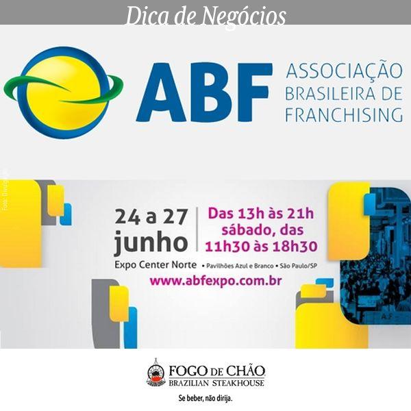 contece no Expo Center Norte, entre os dias 21 e 24 de Junho a ABF Franchising Expo, a maior feira de franquias da América Latina com as melhores opções de investimento. O grande encontro do setor te permite descobrir as vantagens de investir em uma marca de franquia estabelecida, para abrir o próprio negócio com segurança.