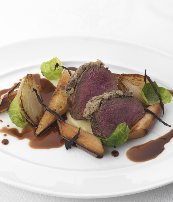 This luxurious venison recipe from Phil Carnegie combines the rich game with the woody flavours of salsify and parsnip, creating a dazzlingly memorable meal.