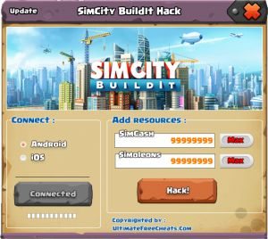 SimCity BuildIt Hack Cheats Tool Online 2017 Tool New SimCity BuildIt Hack Cheats Tool download undetected. This is the best version of SimCity BuildIt Hack Cheats Tool, voted as best working tool.