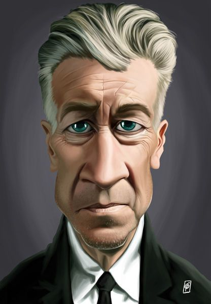'Celebrity Sunday - David Lynch' by rob-art on artflakes.com as poster or art print $14.38 art | decor | wall art | inspiration | caricatures | home decor | idea | humor | gifts