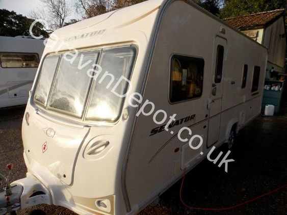 Bailey Senator Virginia, 4 Berth, (2007) Used Touring Caravans for sale