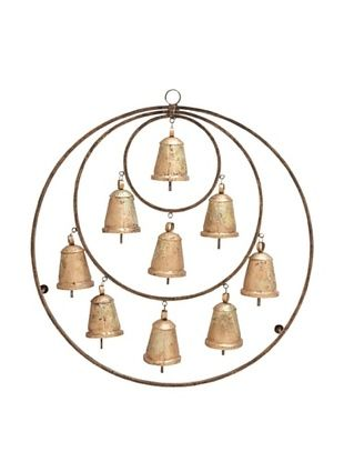 50% OFF Metal Bell Wall Hanging