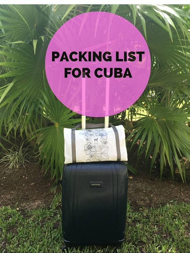 What to take to Cuba: ultimate packing list                                                                                                                                                     More