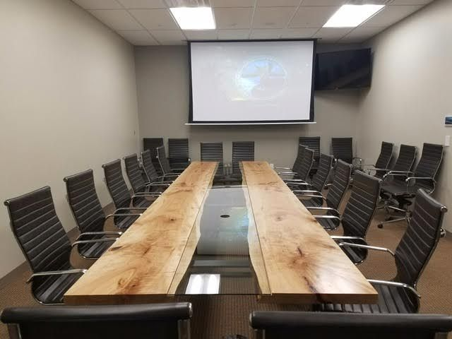 Live Edge Boardroom Table, Live Edge Conference Table, Live Edge Table,  Toronto Live