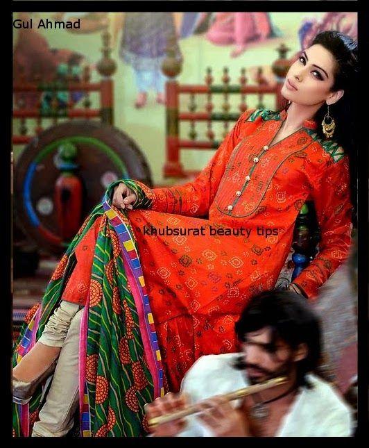 Gul Ahmed lawn dress