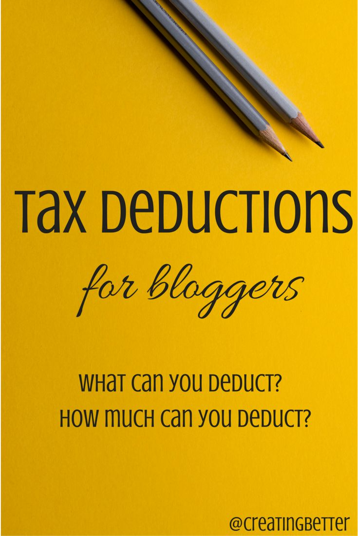 The IRS does not clearly define tax deductions for bloggers. Find out how to know what to deduct and how much to deduct every year for you blogging business