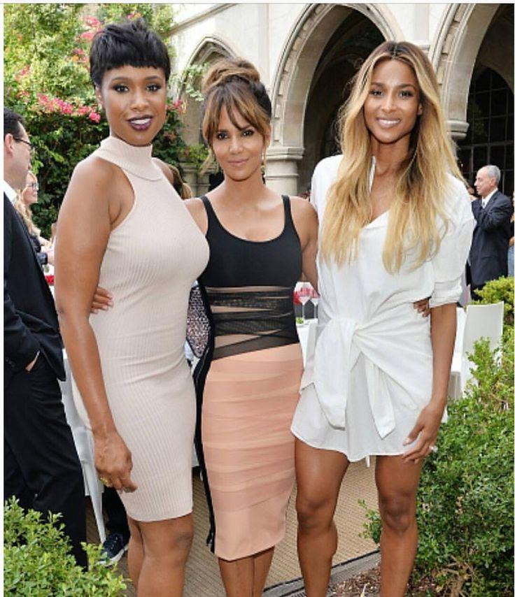Jennifer Hudson, Halle Berry, Ciara