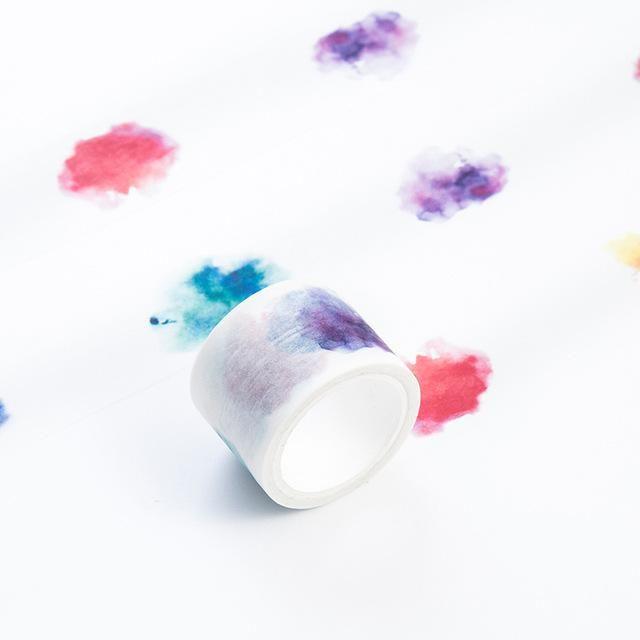 Dab of Color Premium Watercolor Washi Tape 20x7m