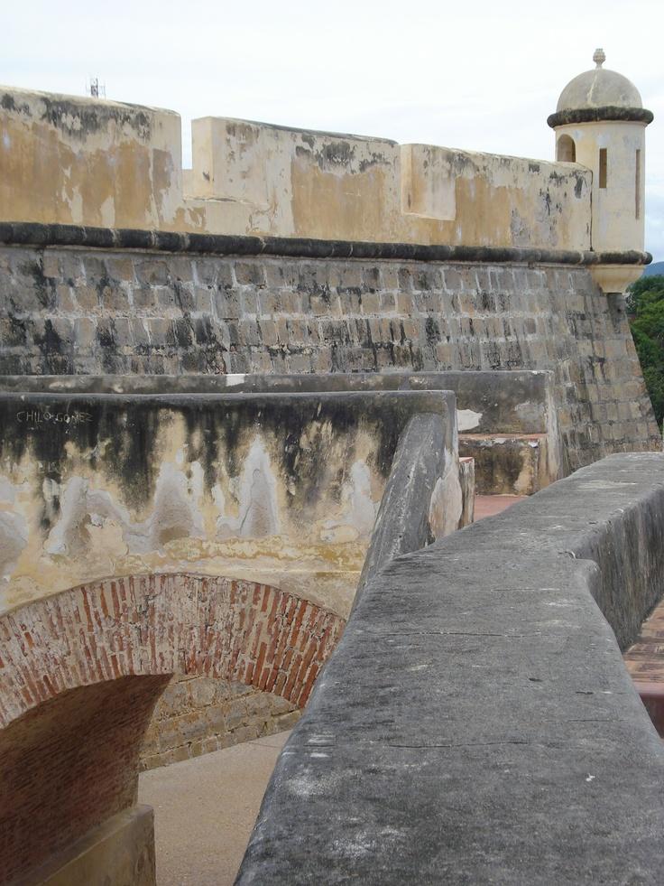 Castillo de San Antonio de Cumaná. Estado Sucre, Venezuela.