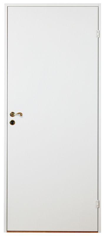 Klassisk vit slät innerdörr som passar i alla miljöer. M7x21 Mindörr.se 445 kr