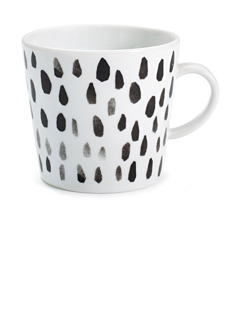 Pickles Mug Raindrops by Darling Clementine