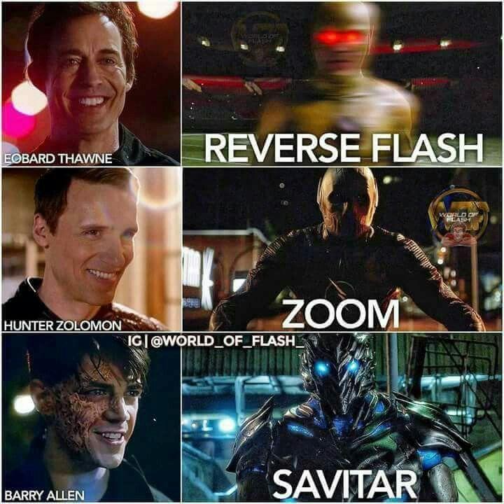 Como assim o Barry é um vilão na 3 temporada de the Flash!