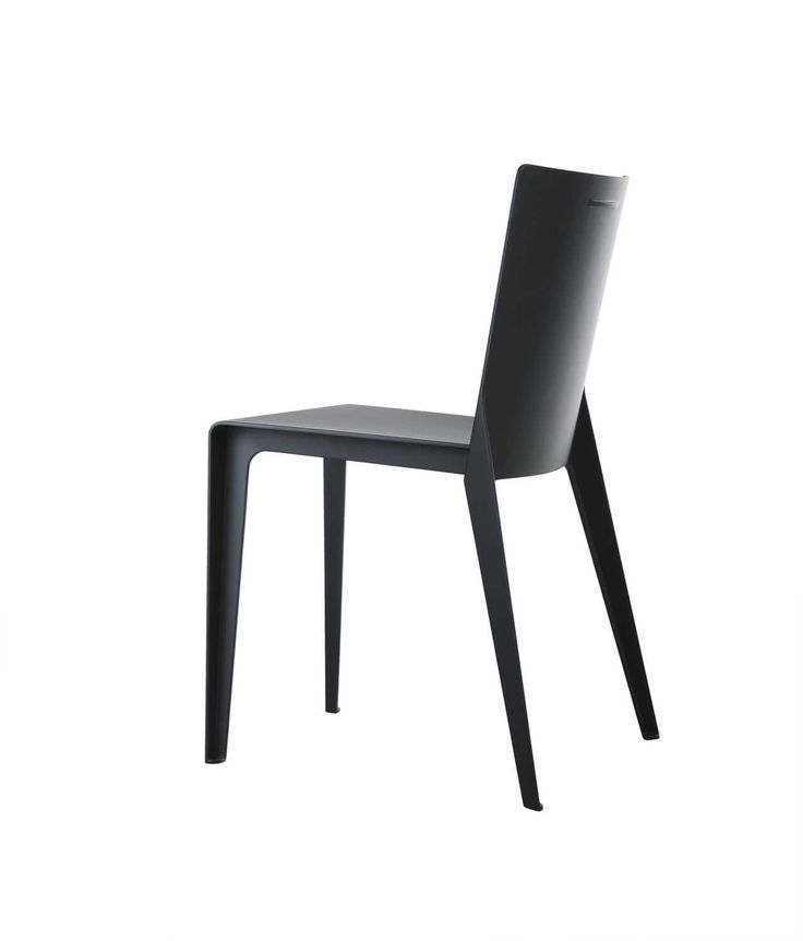 Contemporary chair / composite material / by Hannes Wettstein / orange ALFA  Molteni & C