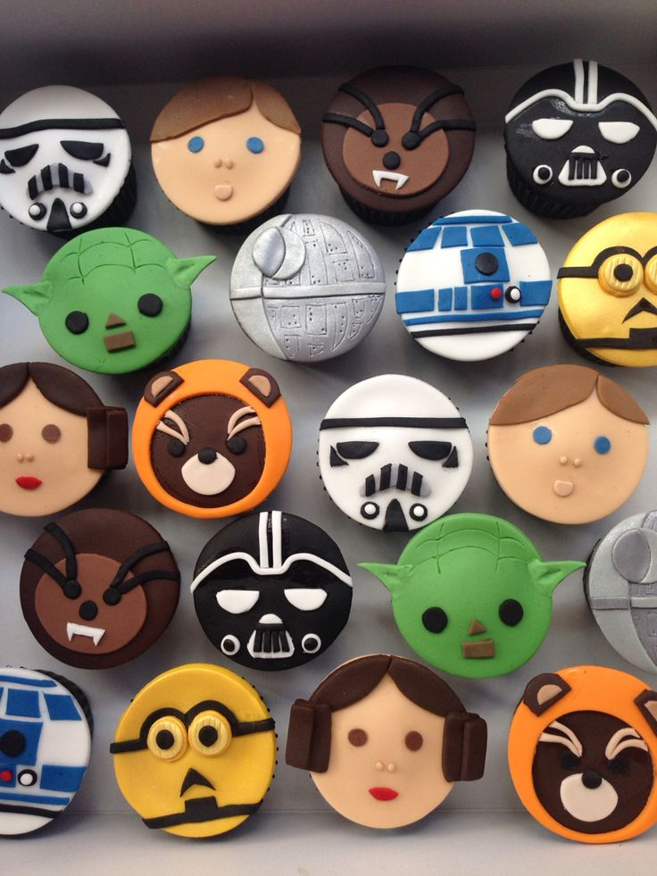 Starwars cupcakes!